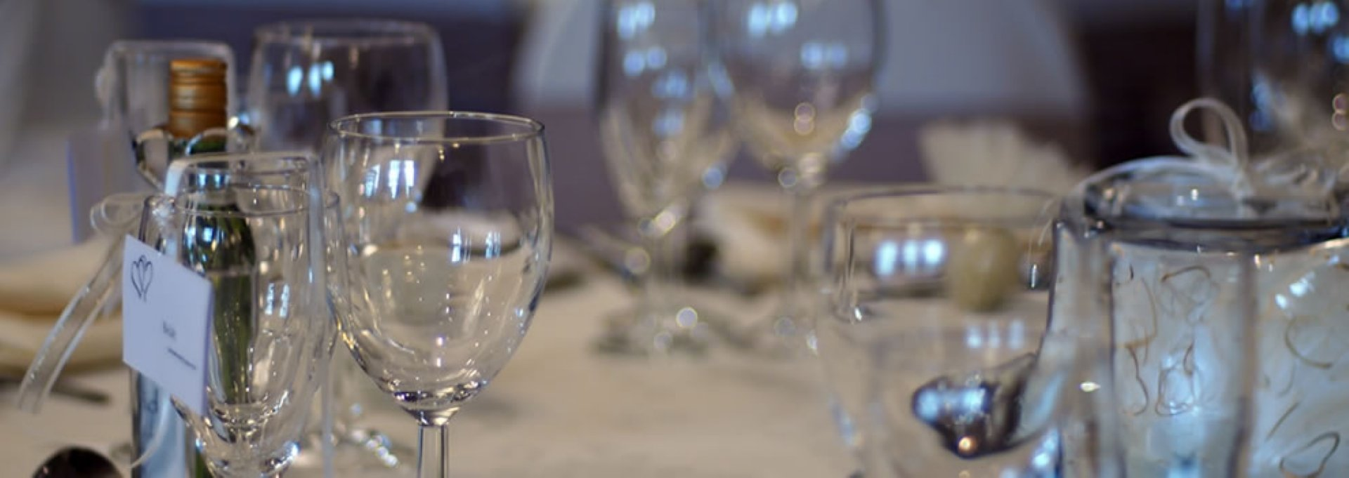 A choice of drinks packages are available for your wedding at The Cairndale Hotel in Dumfries.