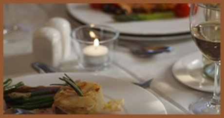 Restaurants Dumfries, enjoy a delicious meal at Reivers Restaurant