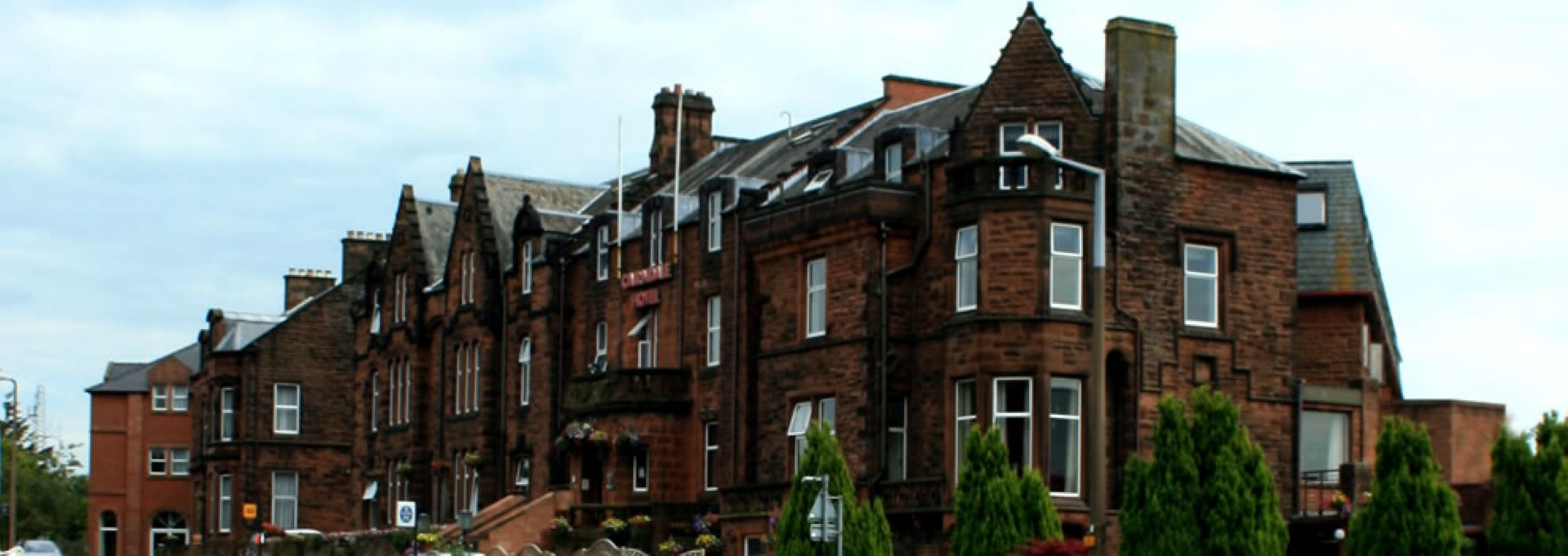 Exterior of The Cairndale Hotel in Dumfries