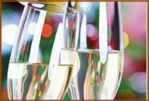 other functions fluted glasses champagne