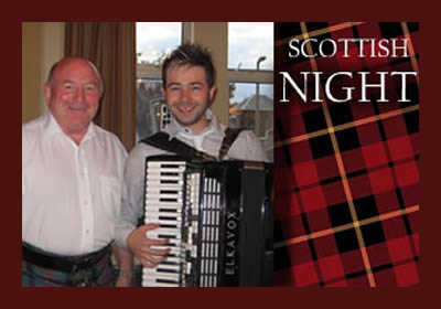 Scottish Night with Sandy & Lee