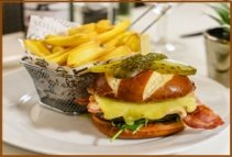 restaurant food burger ge